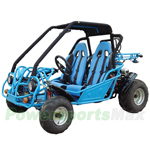 GK-F013-R392 250cc Go Kart with Automatic Transmission w/Reverse, Water-Cooled Engine. Refurbished, In Crate!