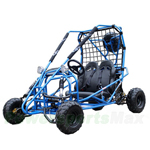 GK-C02 125cc Go Kart with Automatic Transmission w/Reverse, Front & Rear Disc Brakes! With Free Sparetire!