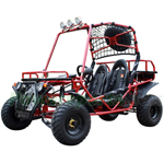 "GK-C07 200cc Go Kart with CVT Transmission w/Reverse, Disc Brakes! W/ Aluminum Rims and Sparetire! Big 21""/22"" Wheels!"