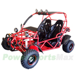 BMS Sand Sniper 150cc Go Kart with Fully Automatic Transmission w/Reverse! Steel Wheels, Roof Lights!Free Shipping!