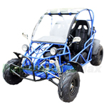 BMS Sand Sniper 150cc Go Kart with Fully Automatic Transmission w/Reverse! Steel Wheels, Roof Lights!