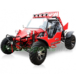 BMS 1000cc Sand Sniper Go Kart 4 SPEED Shift Transmission w/ Reverse, Front & Rear Disks!Black Rims!Free Shipping!