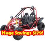 GK-F003 150cc Go Kart with Automatic Transmission w/Reverse!Refurbished,In Crate!Huge Savings $179!