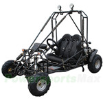 GK-F008 110cc Go Kart with Automatic Transmission w/Reverse, Larger than Kid Size! More room for growth! Free Gifts!