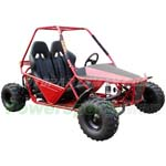 GK-F018 150cc Go Kart with Automatic CVT Transmission w/Reverse!Included Headlights and Front Brake!