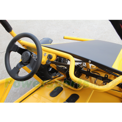 KD-200GKM-2A 177 3cc Go Kart with Automatic Transmission w