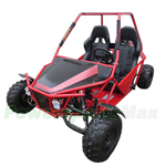 "GK-F018 150cc Go Kart with Automatic CVT Transmission w/Reverse! Big 19""/18"" Wheels!"