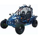 "GK-F023 200cc Go Kart with Fully Automatic Transmission w/Reverse, Oil Cooled Engine, Big 21/22"" Tires!"
