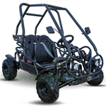 KD-125FM5 125cc Middle Size Go Kart with 3-Speed Semi-Automatic Transmission w/Reverse, Hydraulic Disc! LED Headlights!