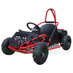 GK-L001  1000W Kids Electric Go Kart with Disc Brake,! 3 speed settings!Manual Switch!