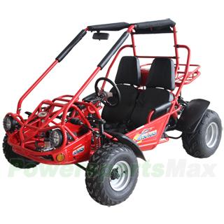 TrailMaster 150 XRS 150cc Go Kart with Automatic Transmission w/Reverse!  Big 20
