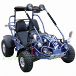 GK-M08 150cc Go Kart with Automatic Transmission w/Reverse, Aluminum Wheels, Speedometer Included!