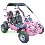 GK-M10 200cc Kid Middle Size Go Kart with Automatic CVT Transmission with Reverse, 6.3HP General Purpose Engine, High Quality! F