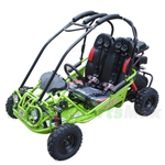 GK-M11 163cc Kid Size Go Kart with Automatic Transmission with Reverse, 5.5HP General Purpose Engine! Free Gifts!