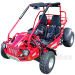 "GK-M12 300cc Go Kart with Automatic Transmission w/Reverse, Big 20""/22"" Wheels, Digital Speedometer!"