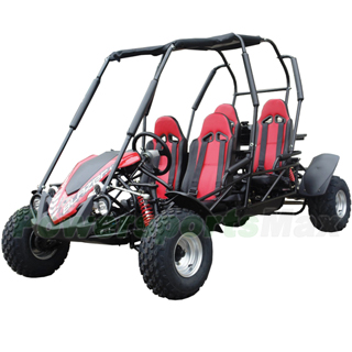 TrailMaster Blazer4 150cc 4-Seat Go Kart with Automatic Transmission  w/Reverse, Big 19