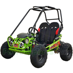 TrailMaster Mini XRX/R+ 163cc Kid Size Go Kart with Automatic Transmission with Reverse, 5.5HP General Purpose Engine!