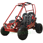 GK-M19-R645 TrailMaster MINI XRX+ 163cc Kid Size Go Kart with Automatic Transmission, 5.5 HP General Purpose Engine, Remote Control! Refurbished, Not Fully Assembled!