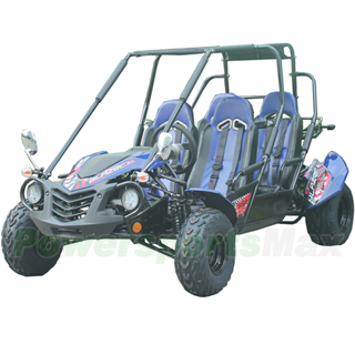 TrailMaster Blazer4 150X 150cc 4-Seat Go Kart with Automatic Transmission  w/Reverse, Big 20