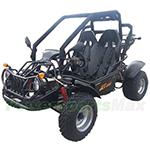 "GK-R06 150cc Go Kart with Automatic Transmission, Electric Start! Disc Brakes, Big 21""/22"" Wheels!"