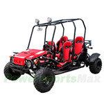 GK-T007 150cc Go Kart with Fully Automatic Transmission w/Reverse, Disc Brakes, Roof Lights!