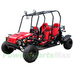 GK-T010 150cc Go Kart with Fully Automatic Transmission w/Reverse, Disc Brakes, Roof Lights!
