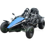 "Taotao Arrow 150cc Go Kart with Fully Automatic Transmission w/Reverse, Disc Brakes, Big 21""/22""Tires! With Free Sparetire!"