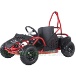 "Taotao EK80 800W Kids Electric Go Kart with Rear Hydraulic Disc Brake! Speed Control 3-speed settings! Big 13"" Tires!"