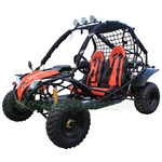 GK-X03 200cc Go Kart with CVT Transmission w/Reverse, Front & Rear Disc Brakes!Electric Start!