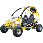 GK-X04 200cc Go Kart with CVT Transmission w/Reverse, Front & Rear Disc Brakes!