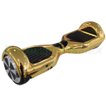 "Metallic Chrome Gold Electric Stand Balance Scooter, 6.5"" tires. LScooter MSRP $699.99 Holiday Special $309.95 Only! Free Shippi"
