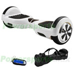 "White Two-Wheel Smart Electric Self Balancing Scooter Hoverboard, 6.5""tires, with Remote Control & Free Bag! Free Shipping!"