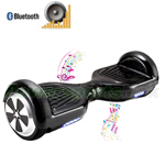 "Black Electric Balance Scooter Hoverboard, with Bluetooth and Speaker, 6.5""tires, Free Shipping!"