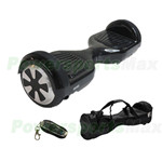 "Black Smart Electric Balancing Scooter Hoverboard, 6.5""tires, with Free Remote Control & Carrying Bag! Free Shipping!"