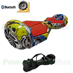 Refurbished Lamborghini Version Skull Hoverboard! with Bluetooth Speaker & Free Bag! Bigger & Wider Size! Free Ship!