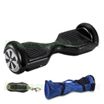 "Refurbished Black Self Balancing Scooter Hoverboard, 6.5"" tires, Xscooter, with Remote Control & Free bag! Free Shipping!"
