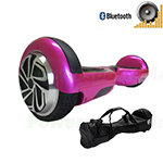 Refurbished Pink Self Balancing Scooter Hoverboard, with Bluetooth Speaker, Fender Flashlights and Free Bag! Free Ship!