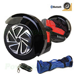 "8"" Black Lamborghini Version Hoverboard! UL Certified Charger & Battery, Bluetooth, Fender Flashlight, Remote & Bag! Free Ship!"
