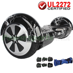 Black Lightning UL2272 Certified Balancing Scooter Hoverboard, w/Free Protection Kits and Free Bag! Free Shipping!