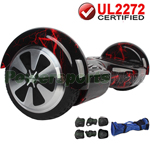 Red Lightning UL2272 Certified Balancing Scooter Hoverboard, w/Free Protection Kits and Free Bag! Free Shipping!
