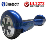 Blue 3.0 Version UL2272 Certified Balancing Scooter Hoverboard, with Bluetooth, Free Shipping!