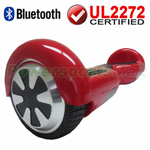 Red 3.0 Version UL2272 Certified Balancing Scooter Hoverboard, with Bluetooth, Free Shipping!