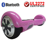 Pink 3.0 Version UL2272 Certified Balancing Scooter Hoverboard w/Bluetooth, Free Shipping!