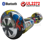 SKULL 3.0 Version UL2272 Certified Balancing Scooter Hoverboard with Bluetooth, Free Shipping!