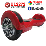 "8"" Red Lamborghini Version UL2272 Certified Hoverboard, With Bluetooth Speaker, Fender Flashlight, Free Shipping!"