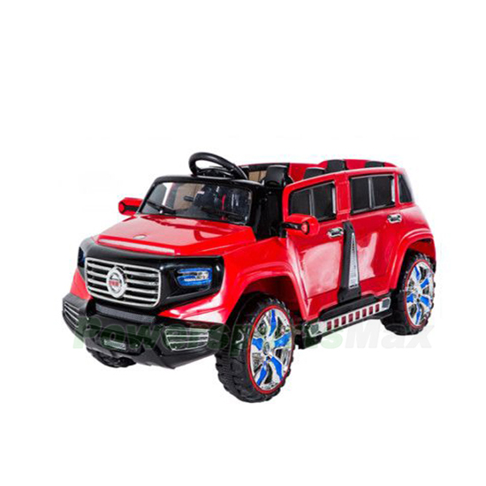 Sx 1528 Jeep Kids Electric Ride On Car 4 Seater With Mp4 Flash Wheels Free Shipping