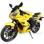 "MC-C57 250cc Sports Style Street Motorcycle with 5-Speed Manual Transmission, Electric Start, Big 17"" Wheels!"
