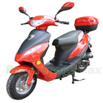 "MC-D08Y 50cc Moped Scooter with Sports Style, 10"" Wheels, Rear Trunk!New Arrival!"