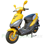 "MC-D109 50cc Moped Scooter with Front Disc Brake and 10"" Wheels!"