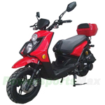 "MC-D119K 150cc Moped Scooter with 12"" Wheels! LED Taillight! Rear Trunk! Fully Assembled! New Arrival!"